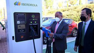 Iberdrola lleva la movilidad sostenible a la Universidad de Castilla-La Mancha instala 16 puntos de recarga para vehículo eléctrico