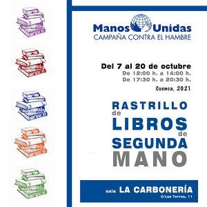 La delegación de Manos Unidas de Cuenca celebra la séptima edición de su Rastrillo de Libros de Segunda Mano