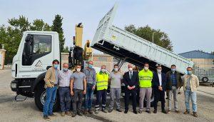 La Diputación de Guadalajara incorpora dos nuevos camiones al servicio de Centros Comarcales
