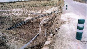 La Diputación de Guadalajara invierte 85.000 euros en reparar daños de la DANA en la carretera GU-249 (Illana-Almoguera)