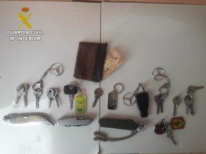 La Guardia Civil detiene en Sisante a una persona por un delito de robo en un domicilio estando sus propietarios dentro