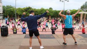 La Plaza del Pueblo de Cabanillas acogerá una «masterclass» solidaria de zumba a beneficio de la AECC