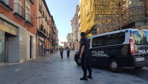 La Policía Nacional detiene en Guadalajara a un joven por agredir con un machete a otro durante las fiestas de Torija