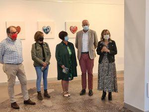 La Sala de Exposiciones del Edificio Iberia acoge la muestra ´Escultura cerámica´ de Sofía Porcar
