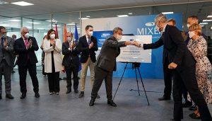 Las autoridades de Castilla-La Mancha y el Ministerio de Industria se vuelcan con Mixer&Pack en su inauguración