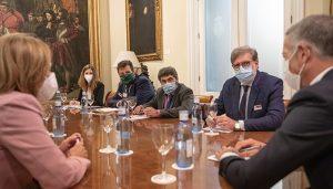 Las CEOE de Cuenca, Soria y Teruel piden la colaboración del presidente del Senado para activar las ayudas al funcionamiento