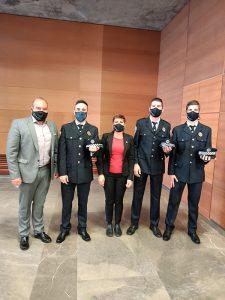Los dos nuevos policías locales de Sigüenza ya son funcionarios de carrera