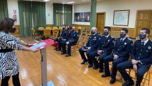 Los seis nuevos efectivos de Policía Local de Cuenca toman posesión de su cargo tras finalizar su formación