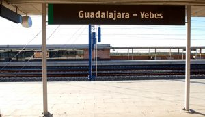 Los senadores del PP preguntan al Gobierno de Sánchez qué medidas va a tomar contra la contaminación acústica de la estación de Guadalajara-Yebes