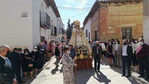 Málaga del Fresno celebra las fiestas en honor la Virgen del Rosario