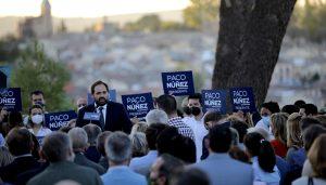 Núñez, candidatura en Toledo.1