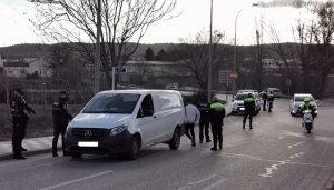 Policía Local de Cuenca y Agentes de Movilidad efectúan controles en camiones y autobuses esta semana