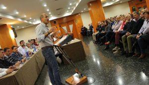 Una veintena de personas conforman la delegación conquense para el 40 Congreso Federal del PSOE
